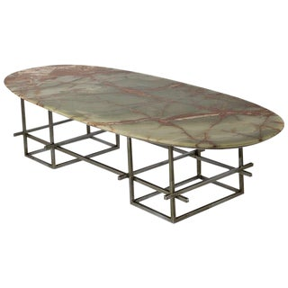 Huge Onyx Low Table For Sale