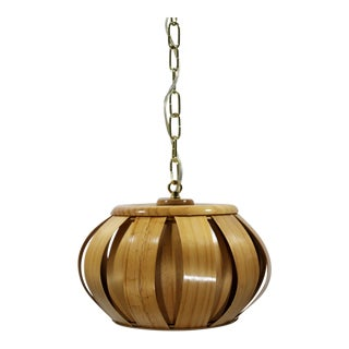 European Bentwood Pendant For Sale