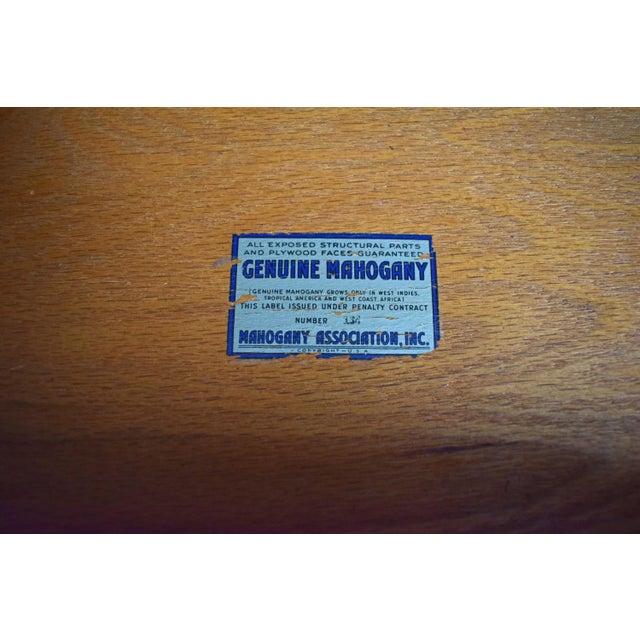 Antique Maddox Mahogany Secretary Desk - Image 11 of 11