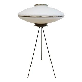 1950s Mid-Century Italian Tripod Lamp For Sale