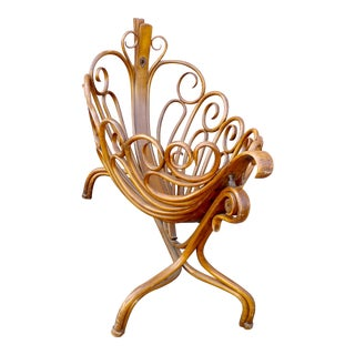 19th Century Swinging Baby Cradle