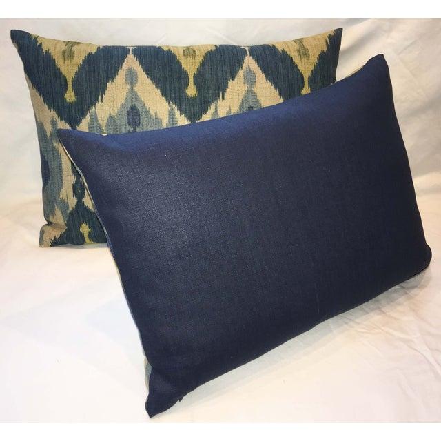 Oscar De La Renta Kublai Ikat Pillows - Pair - Image 3 of 5