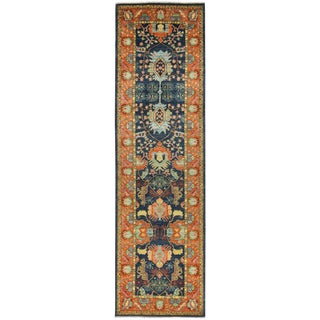 "Ansan, Eclectic Area Rug - 3' 10"" X 13' 8"" For Sale"