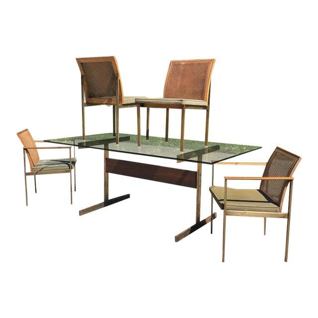 Enjoyable 1960S Mid Century Modern Lane Dining Set 5 Pieces Download Free Architecture Designs Aeocymadebymaigaardcom