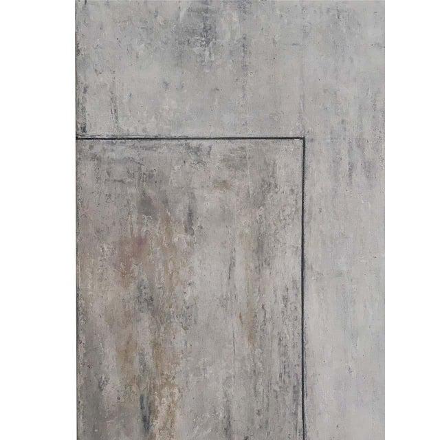 "Stephen Cimini ""Onyx Meets Selenite"" Oil on Canvas Artwork For Sale In New York - Image 6 of 7"
