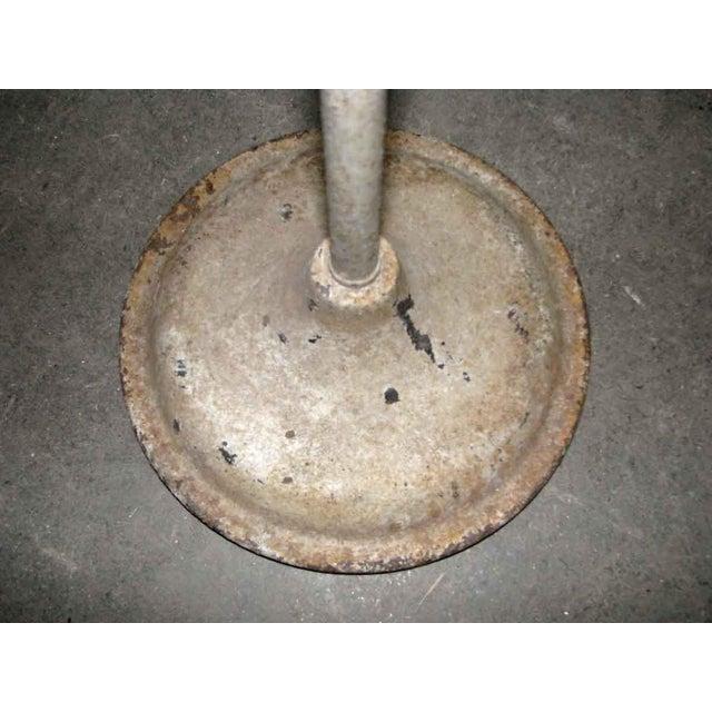 Industrial Industrial Goose Neck Floor Lamp For Sale - Image 3 of 6
