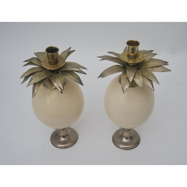 This stylish pair of candle holders are in the exotic taste that was so coveted by Tony Duquette and were recently...