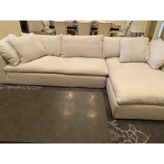 Restoration Hardware Cloud Collection Sectional | Chairish