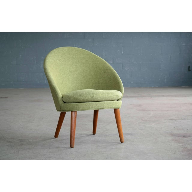 Small Danish Easy Chair Model 301 by Ejvind A. Johansson for Gotfred H. Petersen For Sale - Image 10 of 10