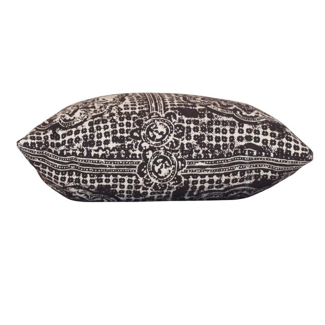 New large kidney pillow in Raoul Textiles block print pattern. Local Pickup is available ONLY during normal business...
