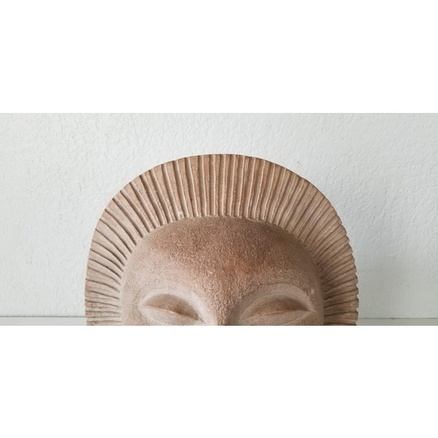 Plaster 1969 Vintage Sun Sculpture by Paul Bellardo For Sale - Image 7 of 12