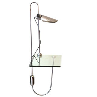 Mid-Century Modern Counterbalance Desk Lamp Attributed to Gae Aulenti For Sale