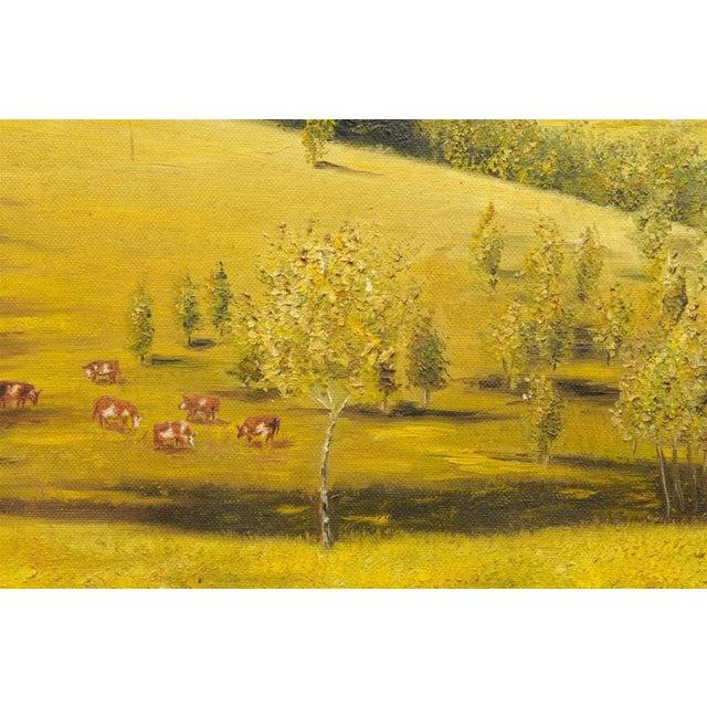 Provençal Pastoral Oil Painting - Image 5 of 7