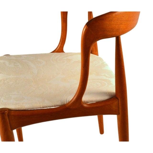 Johannes Andersen Teak Dining Chairs- Set of 6 - Image 4 of 6