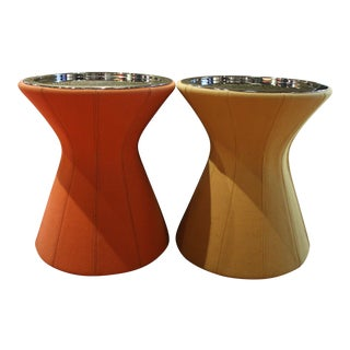 Minimalist Molteni Buddy Side Tables - a Pair For Sale