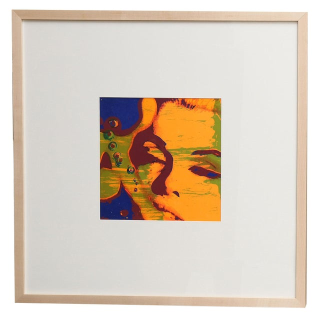 'The Marilyn Monroe Trip - 8' original 1968 serigraph artwork by Burt Stern (1929-2013), after 'The Last Sitting,' matted...
