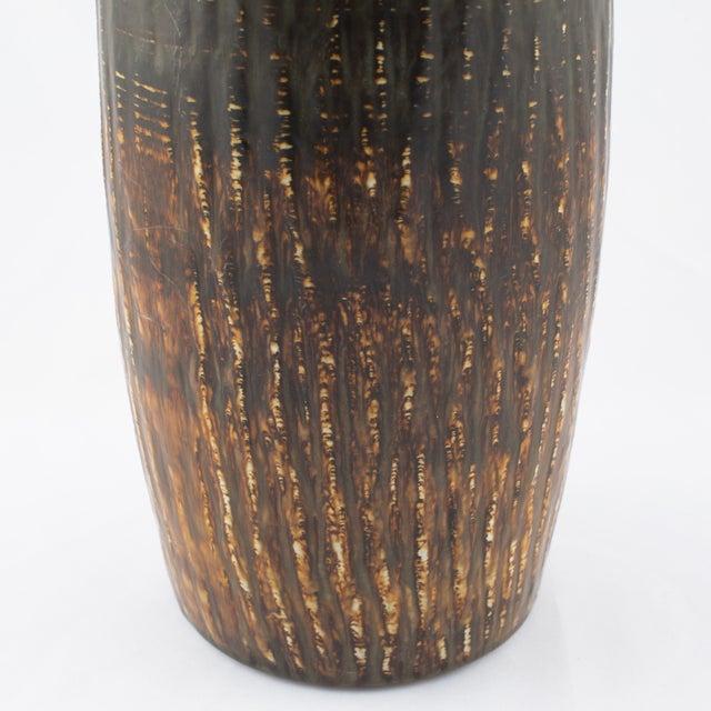 "Ceramic Gunnar Nylund for Rørstrand ""Rubus"" Floor Vase Circa 1950s For Sale - Image 7 of 10"