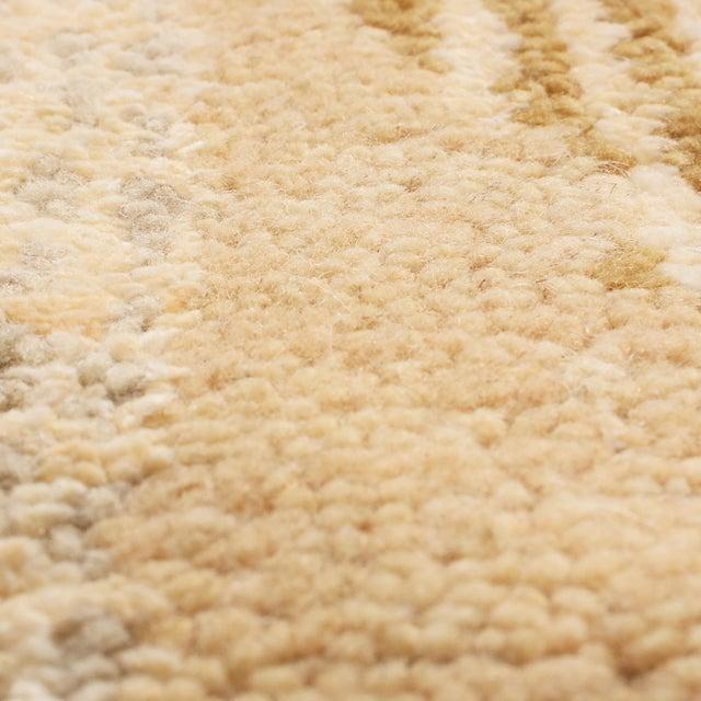 Rug & Kilim Rug & Kilim's Scandinavian-Inspired Geometric Beige Cream Wool Pile Rug For Sale - Image 4 of 6