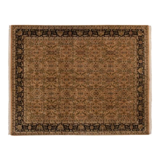 "New Indian Heriz Design Carpet - 11'9"" X 15' For Sale"
