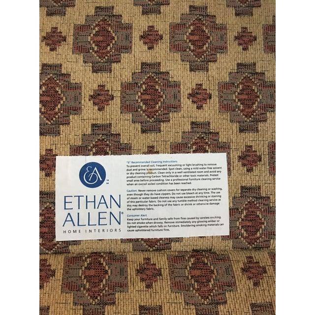 Ethan Allen Kilim Club Chair - Image 5 of 7