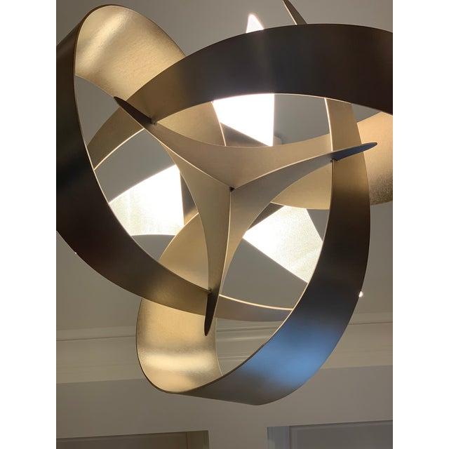 2010s Hubbardton Forge Large Led Pendant Light For Sale - Image 5 of 7