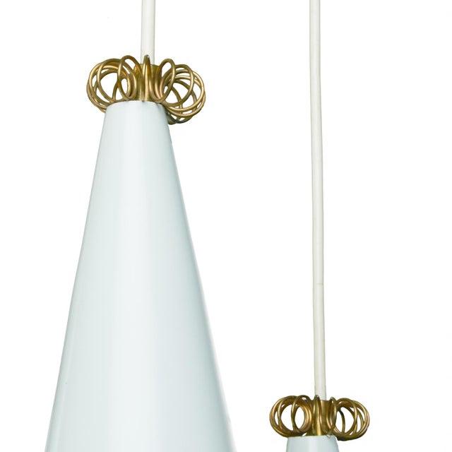 1960s Mauri Almari pendant lamp for lightolier For Sale - Image 5 of 5