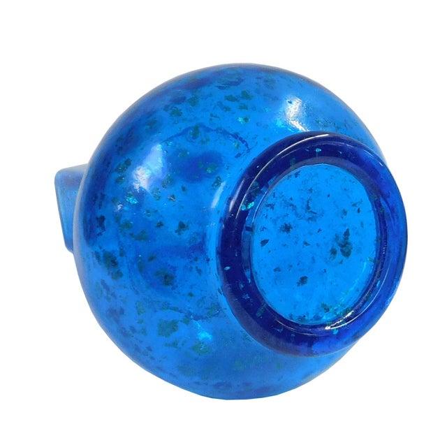 Light Blue Golden Flake Peking Glass Accent Vase Chairish