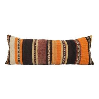 Long Turkish Kilim Pillow For Sale