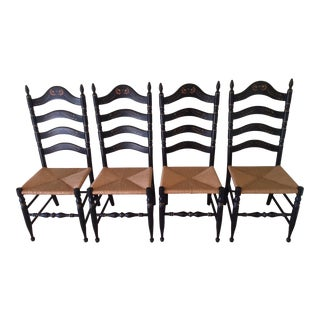Vintage Ethan Allen Hitchcock Chairs - Set of 4