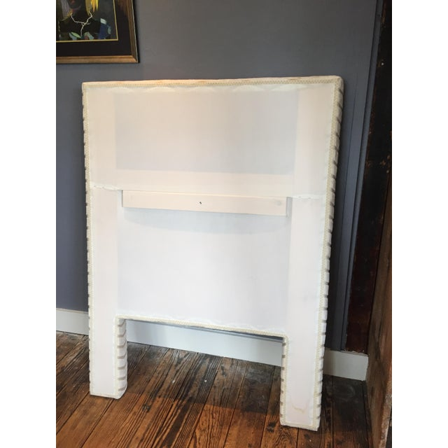 Custom Twin Size Upholstered Headboard - Image 3 of 7