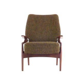 Mid Century Modern Adrian Pearsall Reclining Lounge Chair Preview