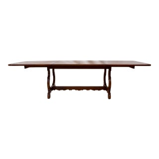 Spanish Farm Style Banquet Dining Table For Sale
