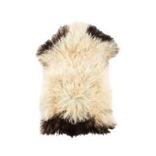 "Hand-Tanned Sheepskin Pelt Rug - 2'0""x2'10"" For Sale"