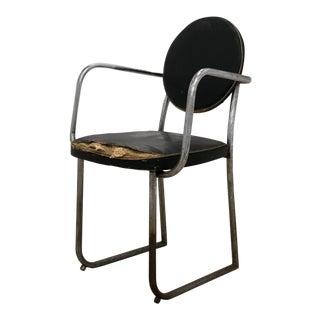 1960s Mid-Century Industrial Metal Chair