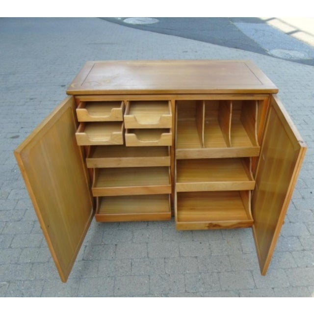 Wooden Storage Cabinet - Image 4 of 5