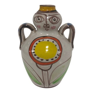 Vintage DeSimone Italian Art Jug For Sale