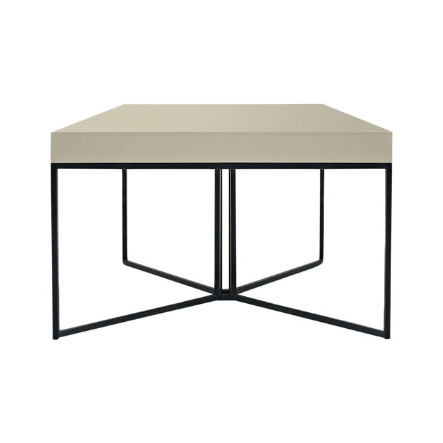Gray Contemporary Side Table - Image 1 of 3
