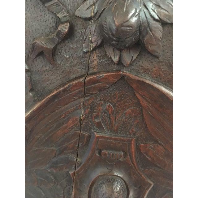 Irish Carved Hall Chair - Image 4 of 6