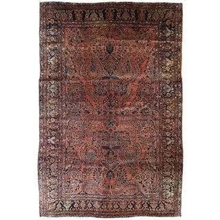 Antique Persian Sarouk Carpet For Sale