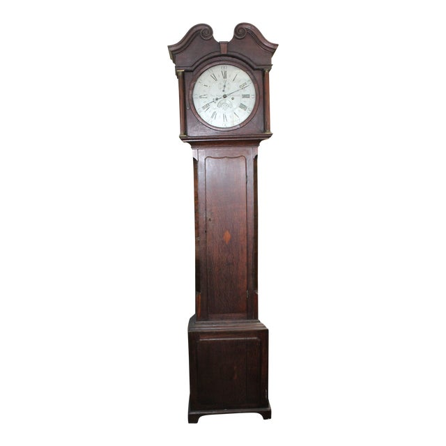 Pace Jones Mommouth Grandfather Clock For Sale