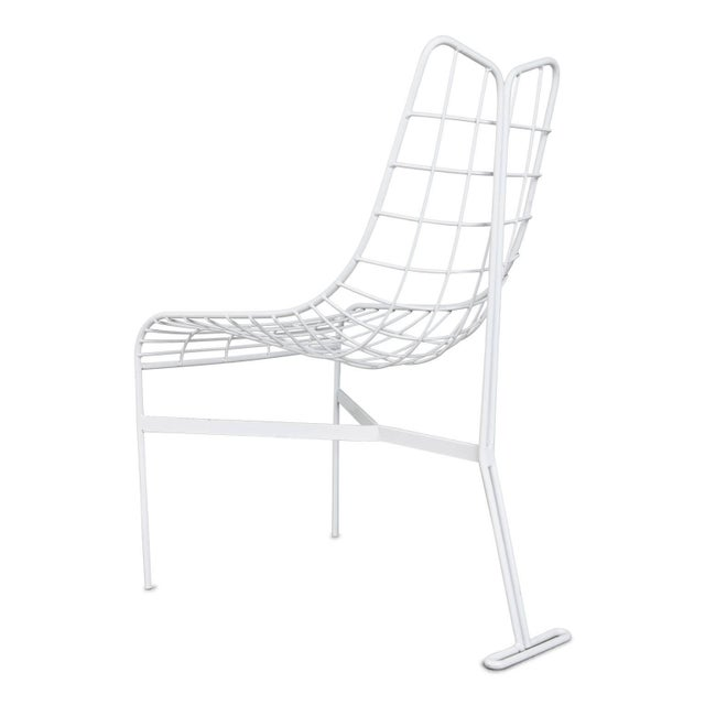 """1950s 1985 Vladimir Kagan """"Capricorn"""" Outdoor Dining Chairs and Table, Restored For Sale - Image 5 of 9"""