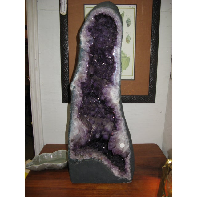 Amethyst Geode Large Crystal Cathedral Specimen - Image 4 of 11