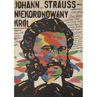 Johann Strauss: The King Without a Crown 1987 Polish B1 Film Poster For Sale