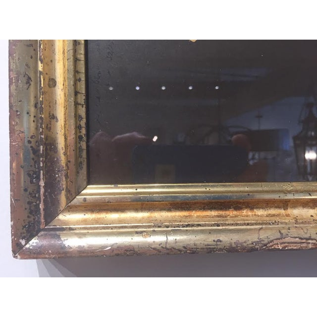 """1970s Vintage Art 'Israel"""" in Antique Frame by Michael Gross For Sale - Image 5 of 6"""