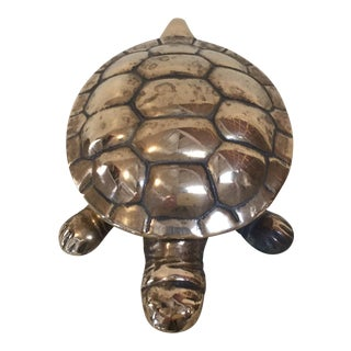 Brass Turtle Box For Sale