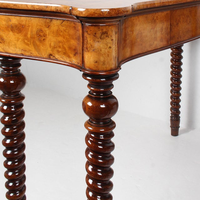 19th Century 19th Century French Baroque Console Tables - a Pair For Sale - Image 5 of 13