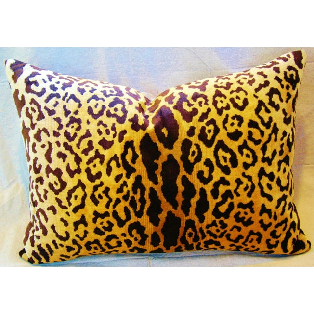 Scalamandre Cut-Velvet Leopardo Pillow - Image 8 of 8