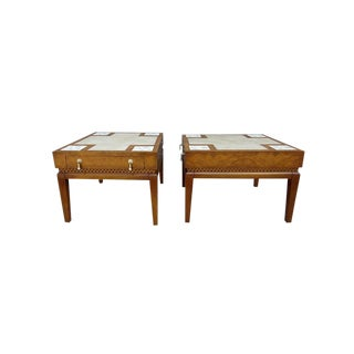 Mid Century Modern Heirloom Quality Weiman Tables For Sale