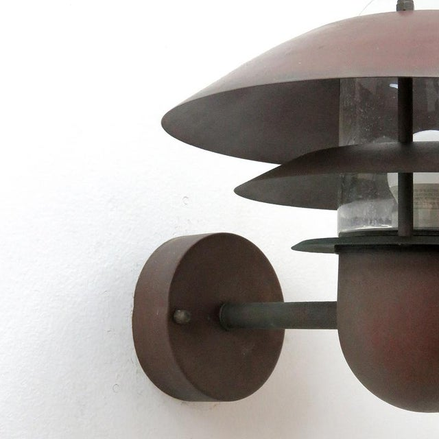 1950s Nordlux Danish Outdoor Wall Lights - a Pair For Sale - Image 5 of 11