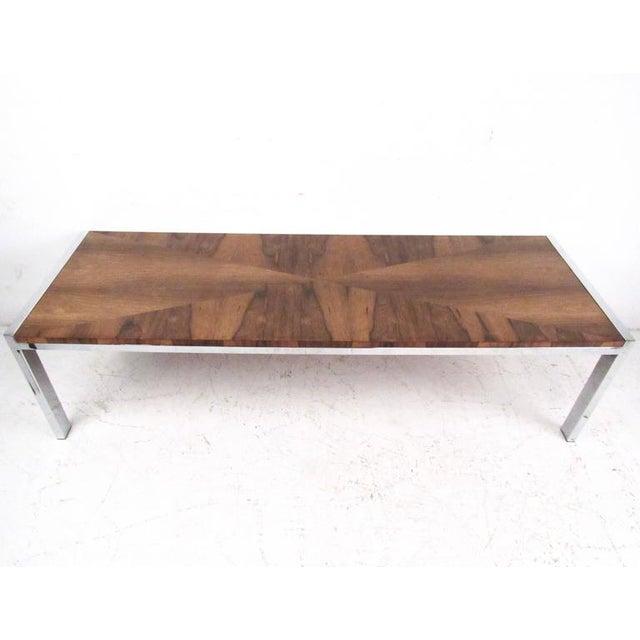 Mid Century Modern Rosewood Coffee Table Chairish